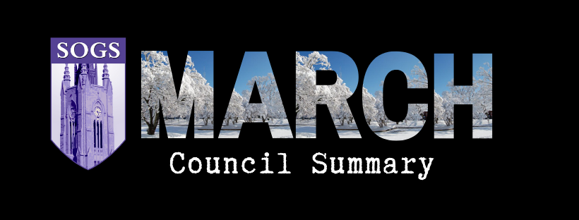 March 2019 Council Summary