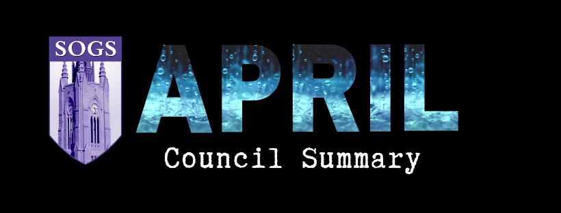 April Council Summary